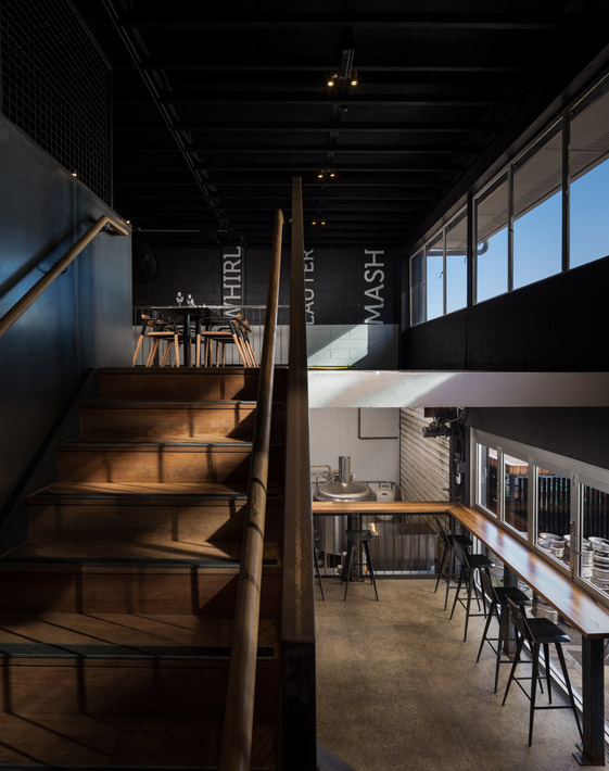 Aether Brewery staircase
